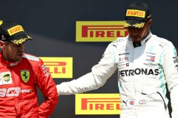 Hamilton Asks Vettel To Stick Around In F