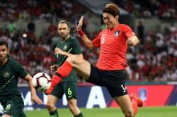 South Korea Australia Friendly Match Report