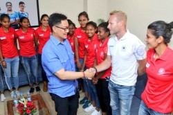 Will Provide All Support For Olympic Qualifiers Kiren Rijiju Assures Women Hockey Team