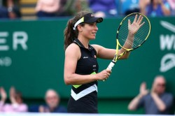 Johanna Konta Eases Through Eastbourne International