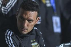 Scaloni Argentina Copa America Messi