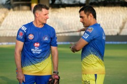 Sharing Msd S Trade Secrets With Australia Naah Says Csk Batting Coach Mike Hussey
