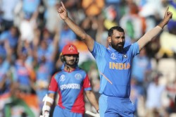 Icc World Cup 2019 Mohammed Shami Reveals Ms Dhoni S Role Behind Hat Trick Afghanistan