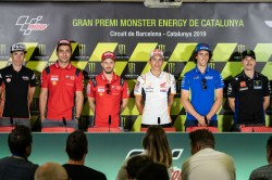 Motogp Riders Ready For Battle In Barcelona