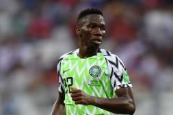 Nigeria 1 Guinea 0 Omeruo Sends Super Eagles Through As Keita Struggles