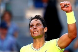 Rafael Nadal Drop Set French Open David Goffin Roger Federer
