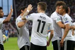 Germany Estonia Euro 2020 Qualifying Match Report Marco Reus Serge Gnabry