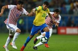 Brazil Paraguay Penalties Semi Finals