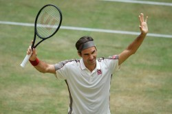 Clinical Federer Ends Herbert Hopes In Halle Goffin Next For Swiss Star