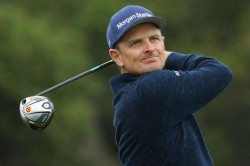 Justin Rose Leads Us Open Tiger Woods