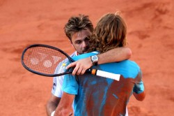Stan Wawrinka Stefanos Tsitsipas French Open Five Set Epic Roger Federer Rafael Nadal Through