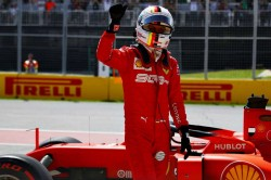 F1 Canadian Grand Prix Qualifying Sebastian Vettel Pole