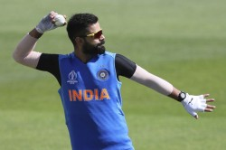Icc World Cup 2019 Rain Dampens Team India S Full Final Net Session Before Wc Opener