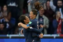 France 4 South Korea 0 Renard Headers Give Women S World Cup Hosts Flying Start
