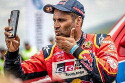 Silk Way Rally Al Attiyah Survives Sandy Opener