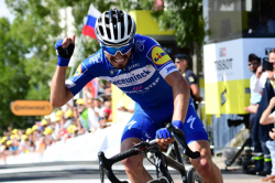 Alaphilippe Takes Yellow Jersey After Storming To Victory In Stage Three