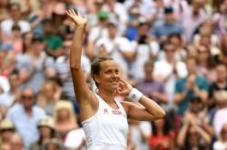 Barbora Strycova Stuns Johanna Konta To Set Up Serena Williams Semi Final