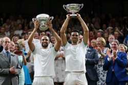 Wimbledon Mens Doubles Cabal Farah Beat Mahut Roger Vasselin Five Hours