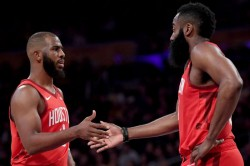 Rockets James Harden Reported Feud Chris Paul False Talk