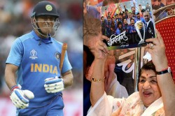Icc World Cup 2019 Lata Mangeshkar Urges Ms Dhoni Not To Retire