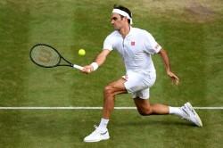 Roger Federer 100 Wimbledon Singles Wins Kei Nishikori Quarter Final