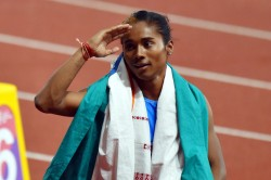 Hima Das Returns To 400m Run Grabs 5th Gold In July