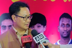 Hope Someday India Will Win An Olympic Medal In Table Tennis Kiren Rijiju