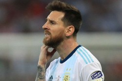 Messi Banned Fined Copa America Red Card