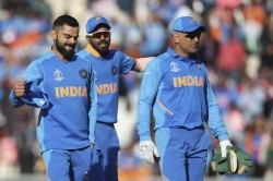 Icc World Cup 2019 Indian Players Reveal Impact Ms Dhoni Has In The Dressing Room