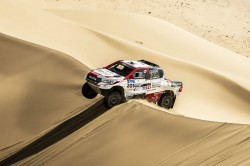 Al Attiyah Well On Course To Win Silk Way Rally