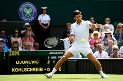 It Was A Great Test Djokovic Delighted With First Up Wimbledon Win
