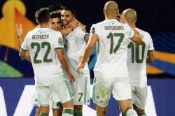 Africa Cup Of Nations Algeria 3 Guinea 0 Riyad Mahrez Goal
