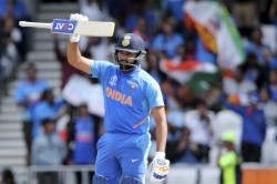 Rohit Sharma Says He Was Not Thinking About Record Hundred Icc World Cup