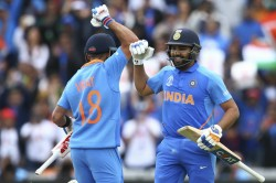 Icc World Cup 2019 I M Trying To Stay In Present Rohit Tells Interviewer Kohli