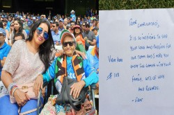 Icc World Cup 2019 Virat Kohli Provides Ticket To 87 Year Old India Fan For Sri Lanka Match