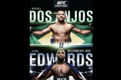 Ufc On Espn 4 Dos Anjos Vs Edwards Fight Card And Schedule
