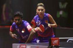 Ultimate Table Tennis 2019 Sathiyan Gives Dabang Delhi Golden Win Over U Mumba