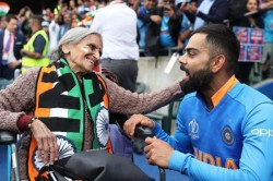 Icc World Cup 2019 Skipper Virat Kohli And Rohit Sharma Seek Blessings From 87 Year Old Fan