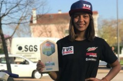Aishwarya Pissay Wins Fim Bajas Women S World Cup