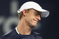 Kevin Anderson Knee Injury Out Us Open Flushing Meadows