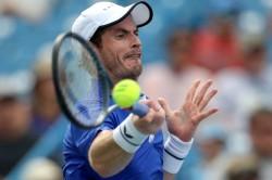 Andy Murray Winston Salem Open Singles Return