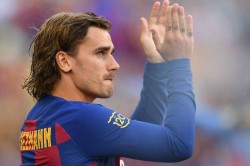 Napoli 0 Barcelona 4 Friendly Match Antoine Griezmann First Goal