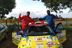 Chetan Shivram Shows Nerves Of Steel Wins Rally Of Coimbatore