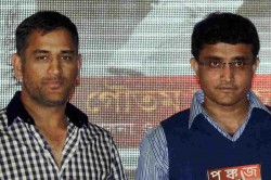 Team India Need To Prepare For Dhoni S Retirement Ganguly