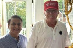 Gavaskar Meets Us President Donald Trump