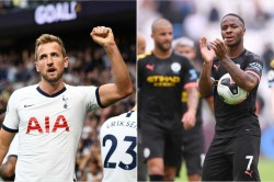 Manchester City V Tottenham Rise Harry Kane Raheem Sterling