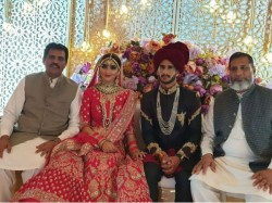 Pakistan Cricketer Hasan Ali Ties The Knot With India S Samiya Arzoo In Dubai