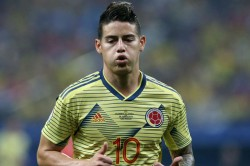James Rodriguez Radamel Falcao Colombia Squad Real Madrid