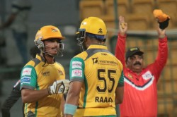 Kpl 2019 Bijapur Bulls Vs Hubli Tigers Mathias Lands Telling Blows Tigers Victory