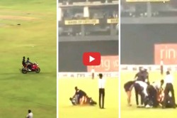 Sri Lanka Cricketer Kusal Mendis Suffers Huge Embarrassment As He Falls Off Bike On The Ground